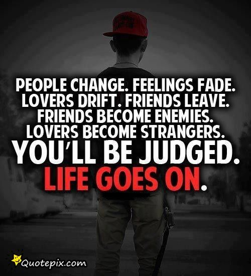 Inspirational Quotes On Pinterest: Quotes About People Changing