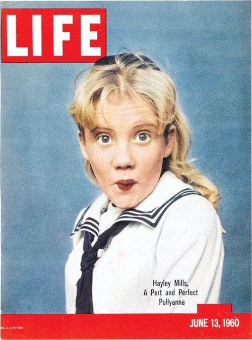 #HayleyMills in the cover of #Life magazine,1960.