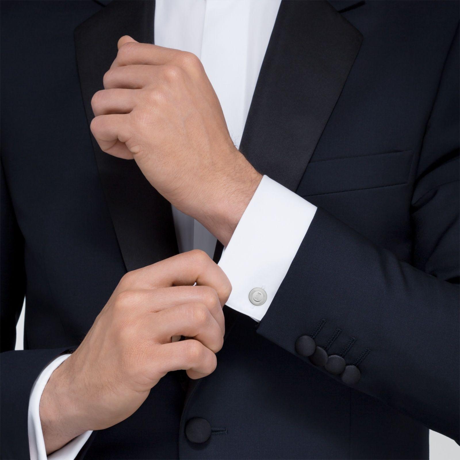 Crog000169 C De Cartier Cufflinks Sterling Silver Palladium Finish Cartier Cufflinks Vintage Cufflinks Mens Accessories Jewelry