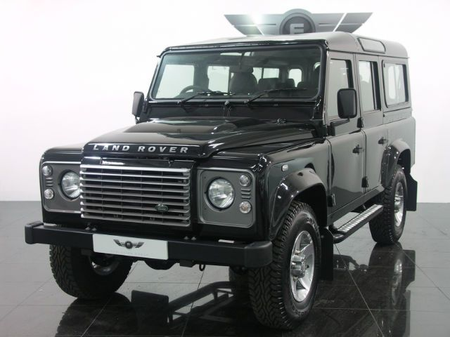 New Land Rover Defender Nearly New Land Rover Defender Black