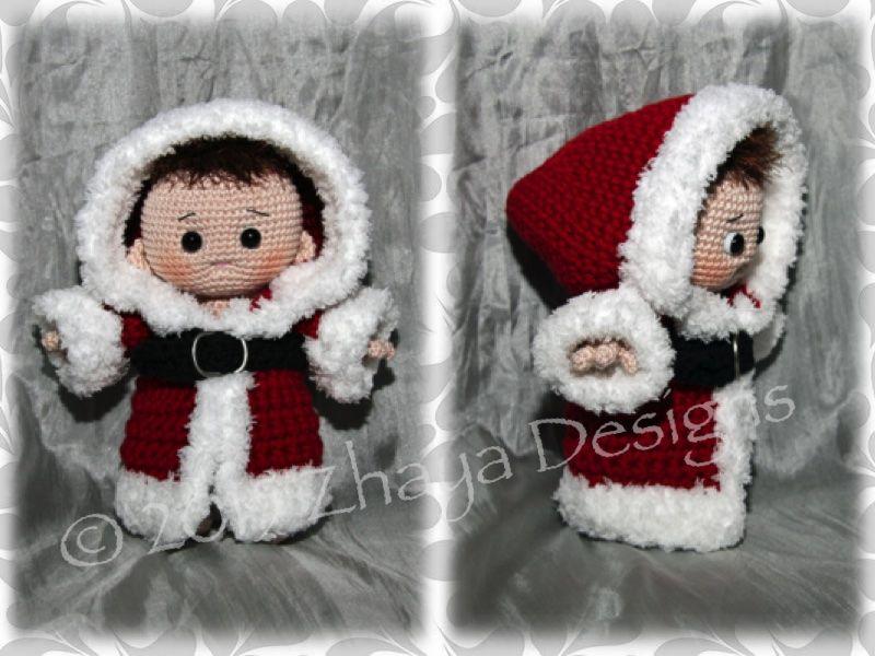 Santa-Baby | Amigurumi | Pinterest | Stricken häkeln, Weihnachten ...