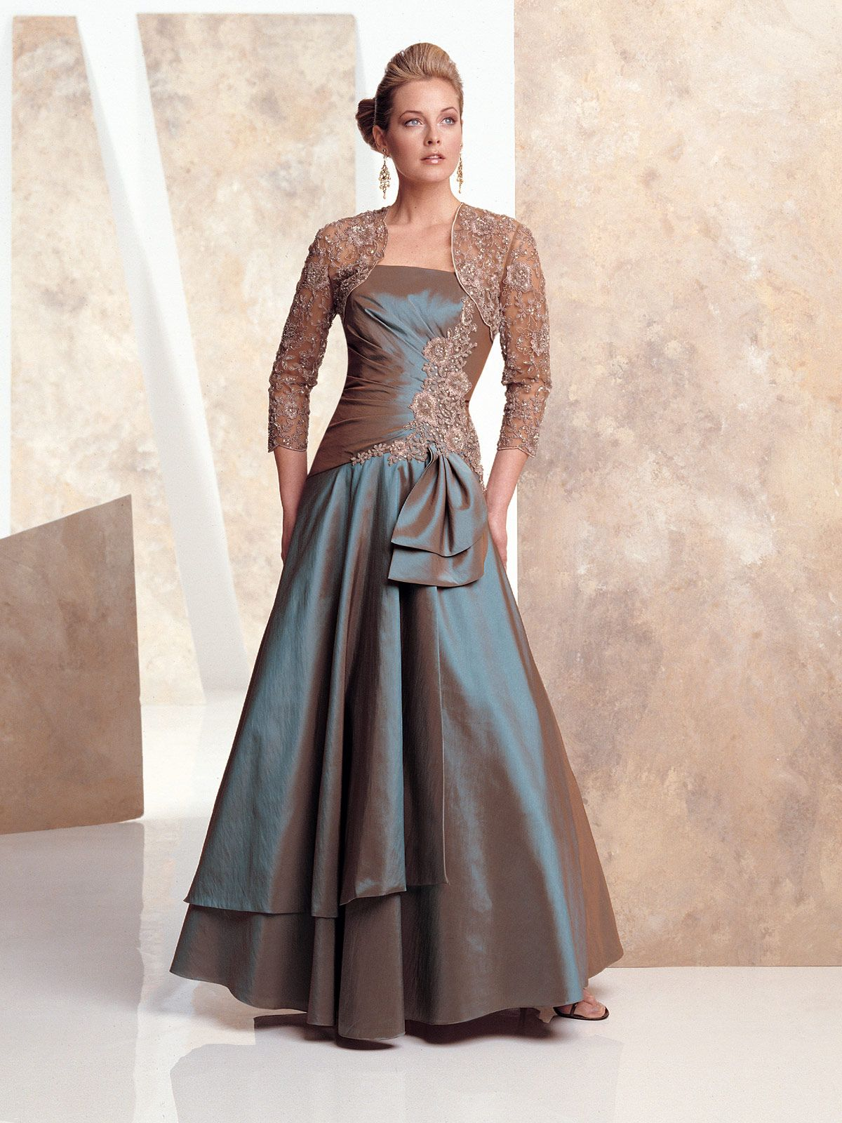 Sophisticated mother of the bride dresses by mon cheri