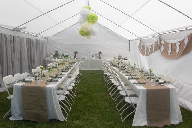 decoration inspiration via a preppy rustic baby shower by the busy girls - Green Canopy Decoration