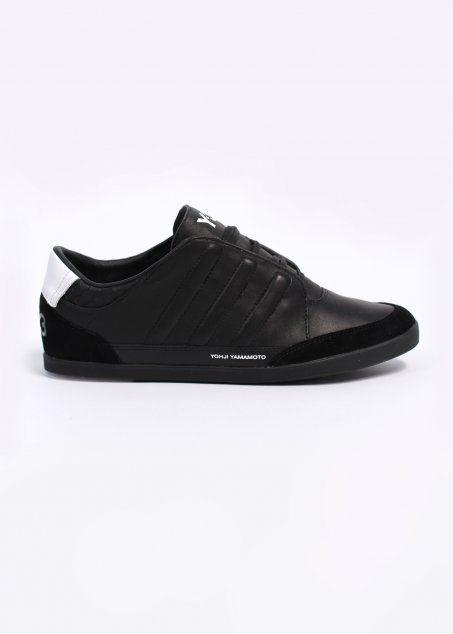 4341f83cbe6e4 Y3 Adidas Yohji Yamamoto Honja Low Trainers Black