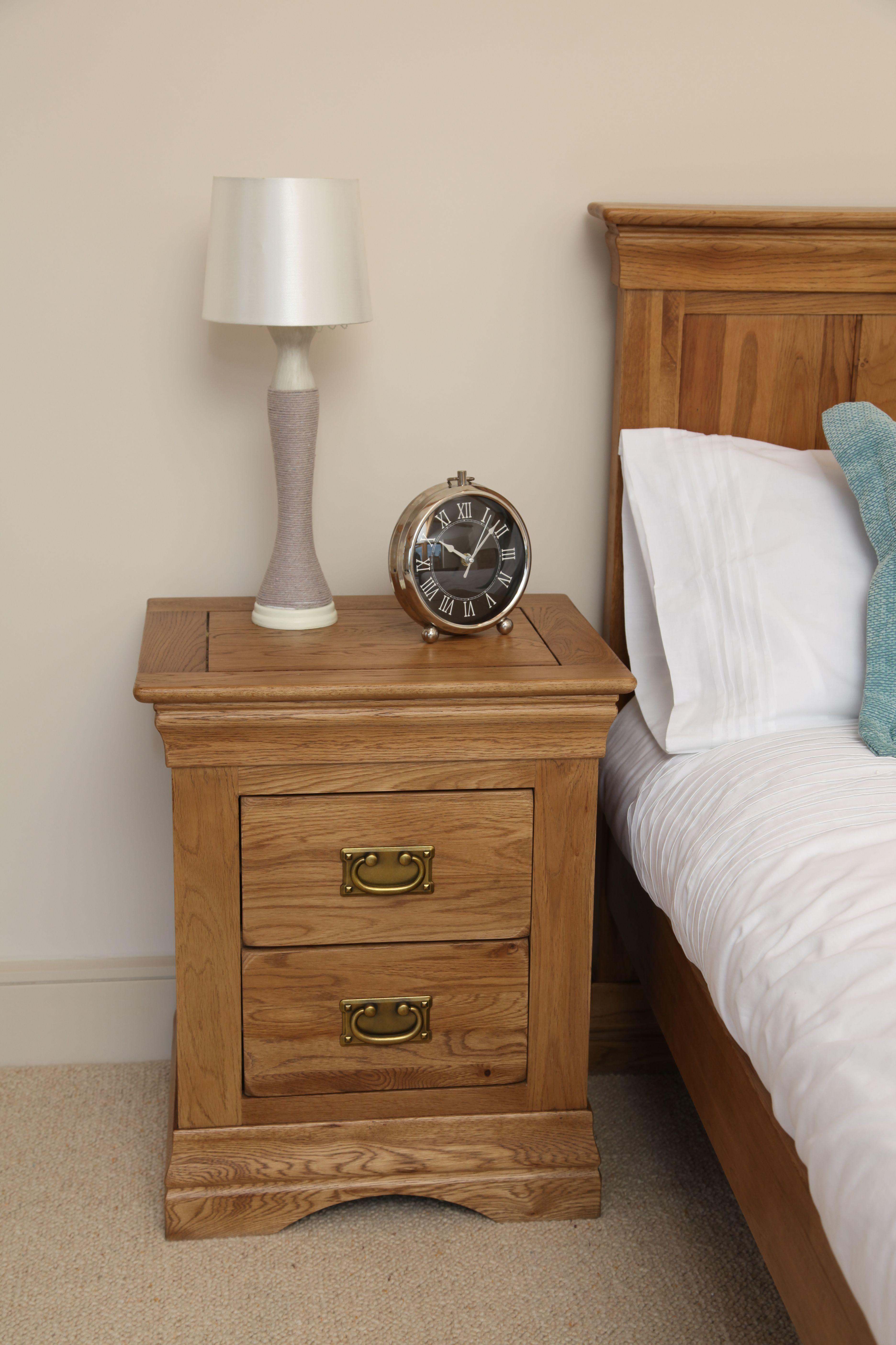 French Farmhouse Solid Oak Bedroom Furniture Oak