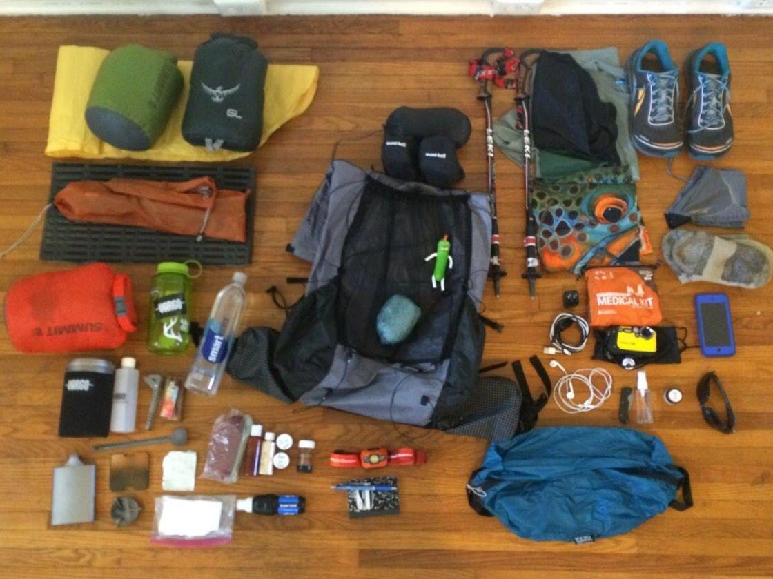 My at gear list appalachian trials survival pinterest survival