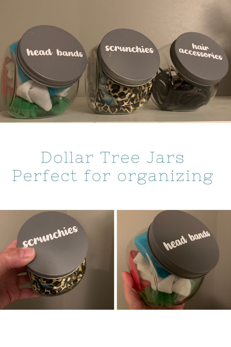 Photo of Dollar Tree Organization Jars   My Inspiration Corner