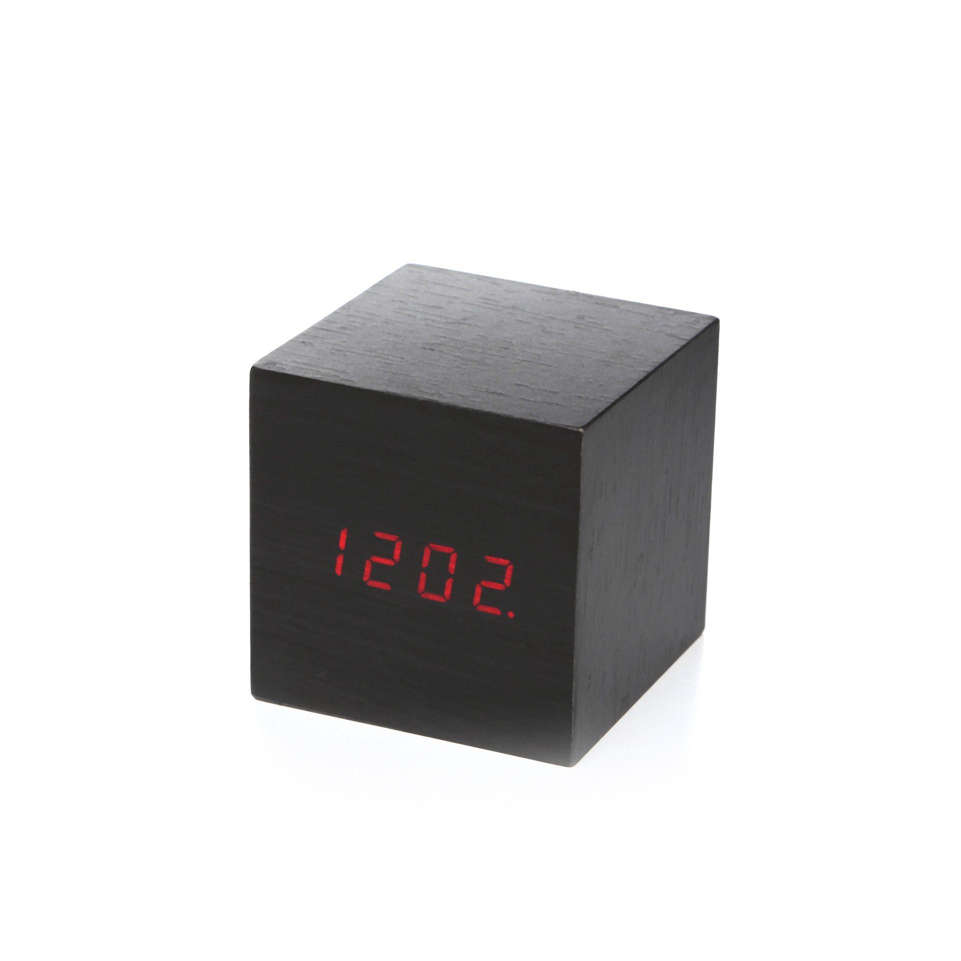 Kikkerland Clap On Cube Alarm Clock | AllModern