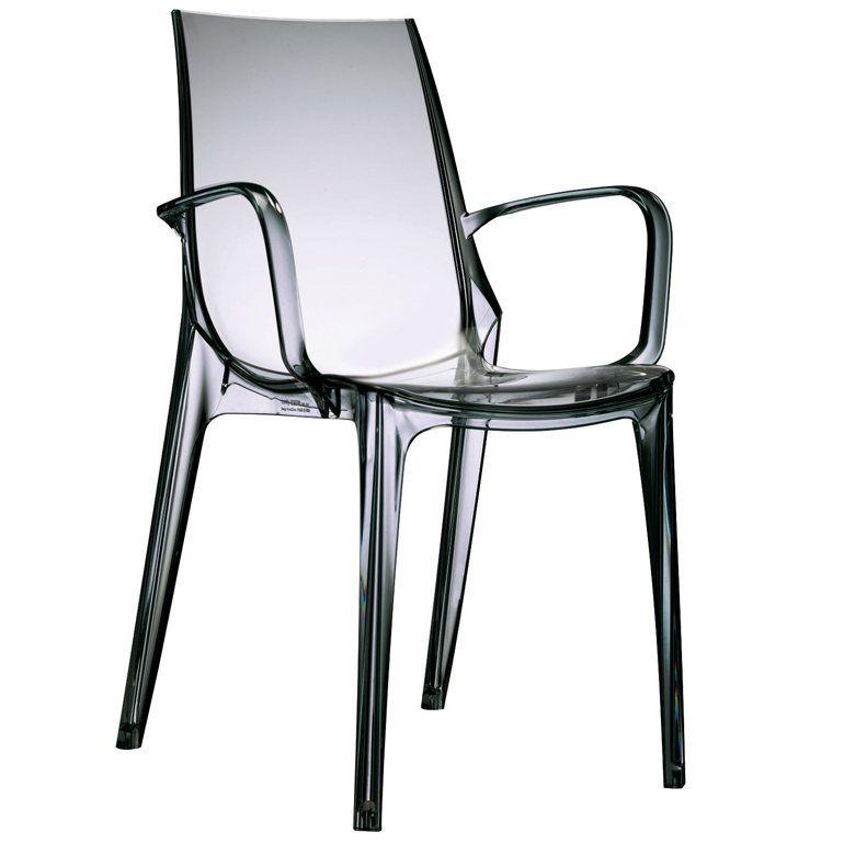 Salesfever Designer Stuhl Mit Armlehnen Vanity Fur 119 00 Moderner Designer Stuhl Aus Einem Stuck Kunststoff Gefer Stuhl Design Stuhle Armlehnen