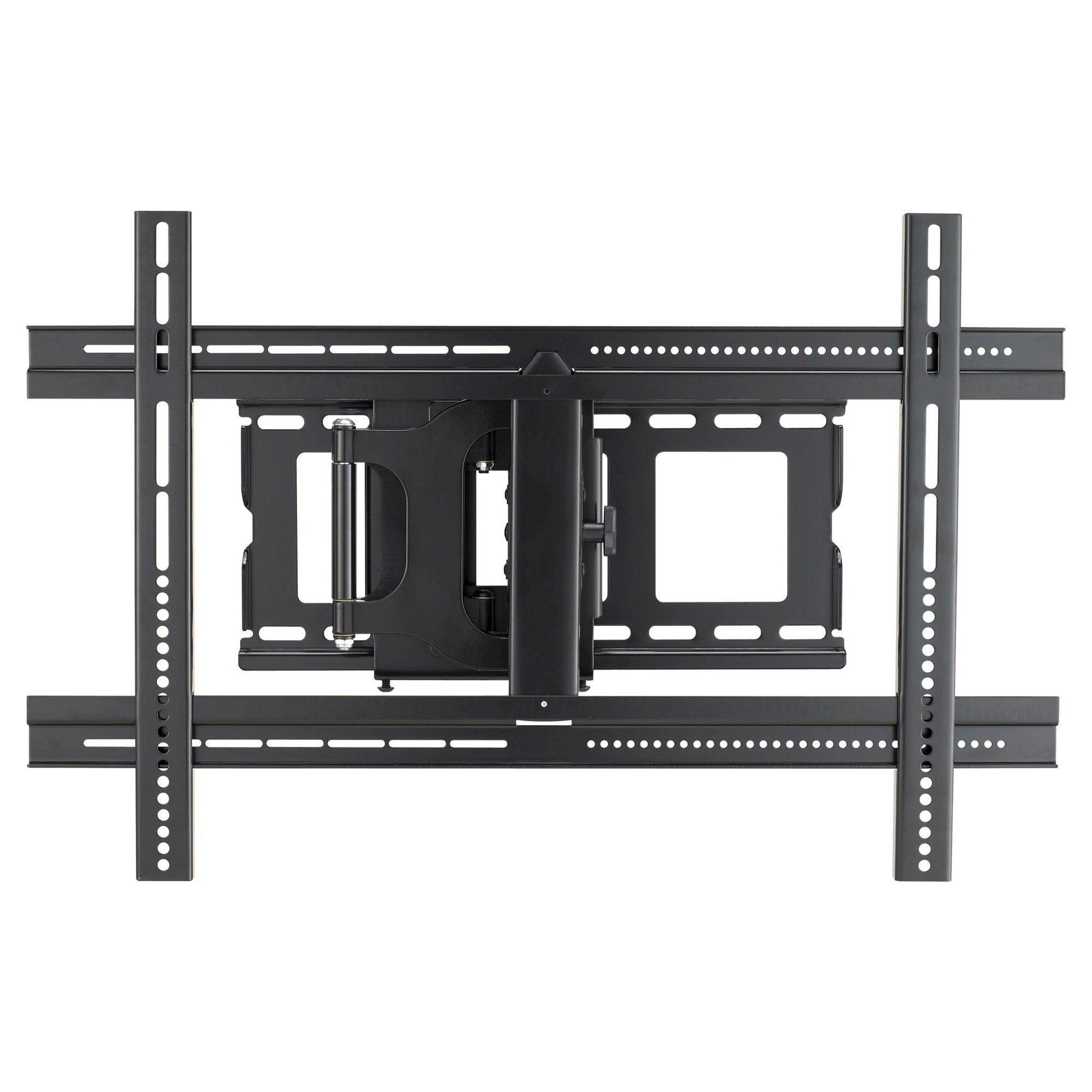 sanus classic large full motion wall mount for 37 80 tvs black mlf13 - Sanus Full Motion Tv Wandhalterung