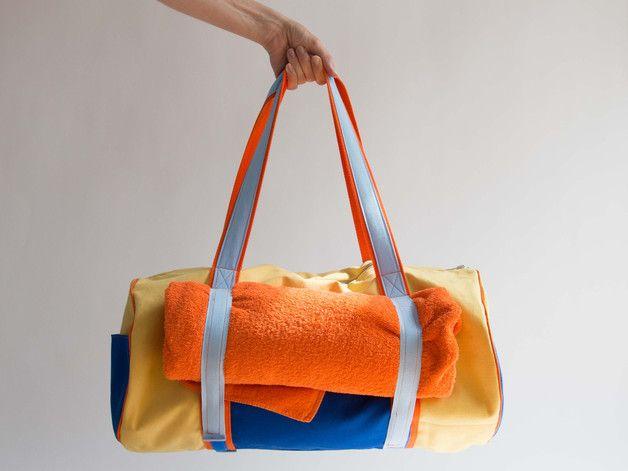 Nähanleitung Yoga Strand Tasche mit Schnittmuster | Yoga, Strände ...
