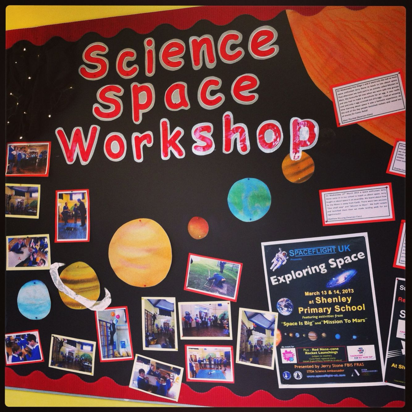 Science Classroom Decorations For Primary ~ Space display primary ks science classroom displays