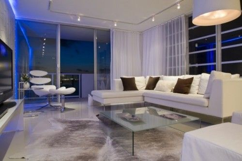 A Little Miami Vice But Still Interesting Curtains Living Room Modern Modern Family Rooms Bachelor Pad Living Room Ideas