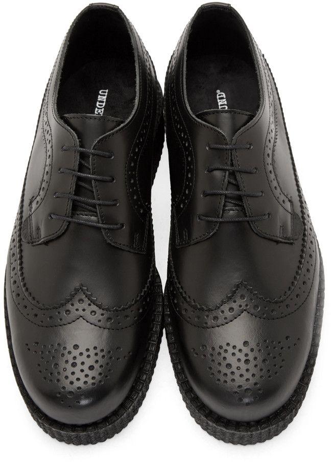 Underground Black Leather Macbeth Creepers  811f37f2ed2