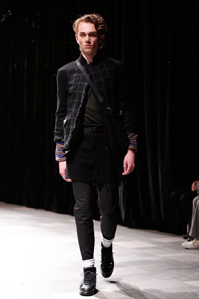 DISCOVERED Fall/Winter 2016/2017 - Mercedes-Benz Fashion Week Tokyo