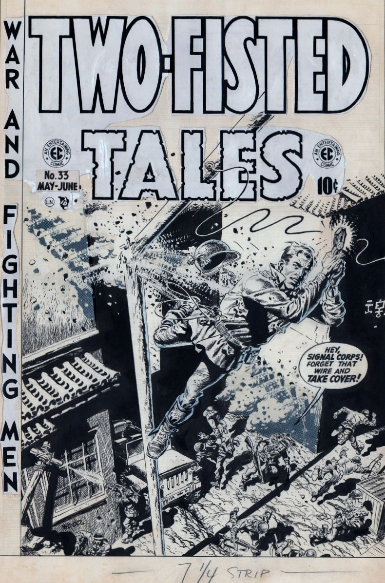 Two-Fisted Tales, Vol. 1 # 33, by Wally Wood