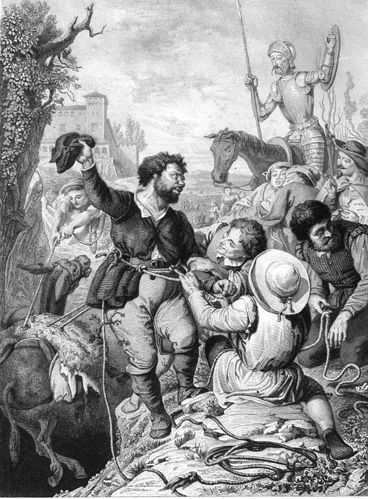 El Quijote Libro Ii Capitulo 55 Sancho En La Gruta