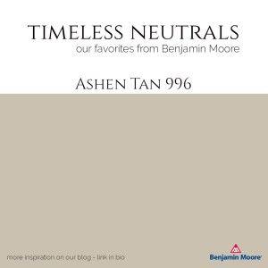 Ashen Tan 996 Benjmain Moore paint available at Texas