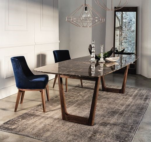 New Opera 430 Dining Table And Mirror By Vibieffe Dining Table Marble Marble Top Dining Table Dinning Table Design
