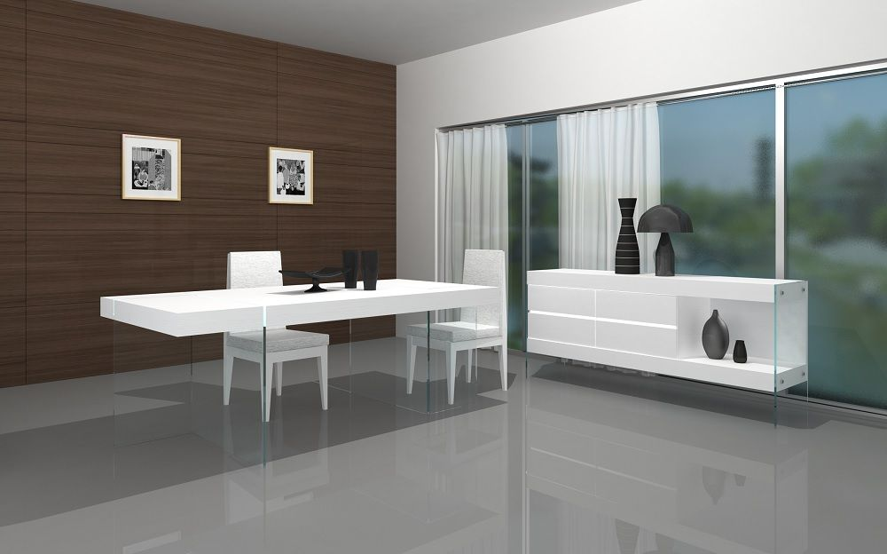 Cloud Modern Dining Table By J M Furniture Modern Dining Room