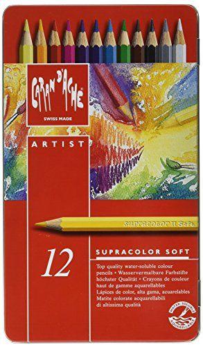 CREATIVE ART MATERIALS Caran D'ache Supracolor Metal Box…