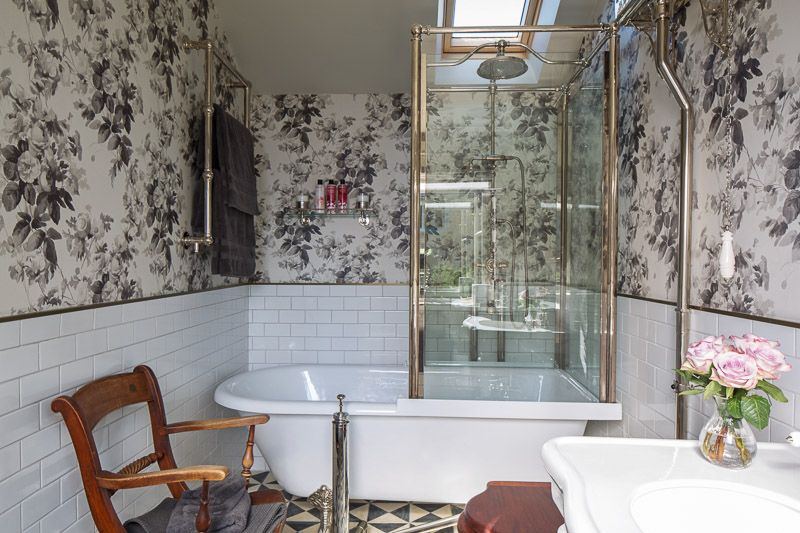 Cotswold bathroom featuring House of Hackney London Rose ...