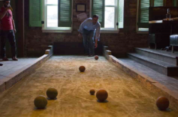 Stunning Indoor Bocce Ball Court Contemporary - Interior Design ...