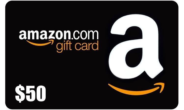 50 Amazon Gift Card Giveaway Amazon Gift Card Free Free Amazon Products Amazon Gift Cards