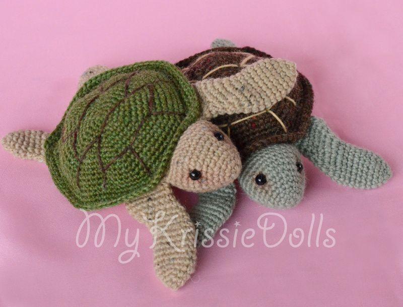 haken, gratis patroon, Nederlands, Ravelry, Zeeschildpadjes | haken ...