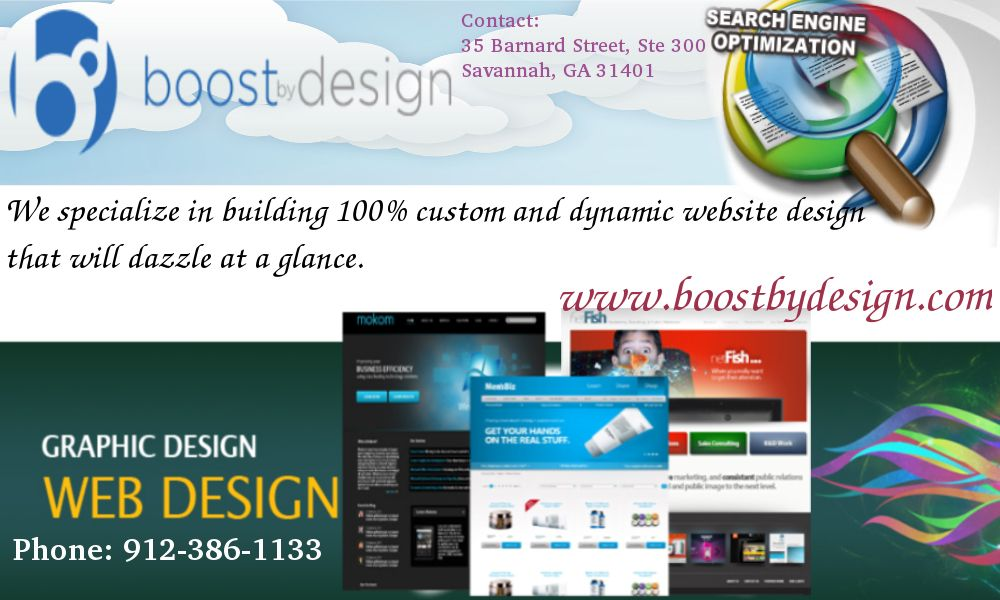 Vist Our Website Www Boostbydesign Com Business Persons Can Consult With Savannah Graphic Design Agencies For B Web Design Graphic Design Agency Website Design