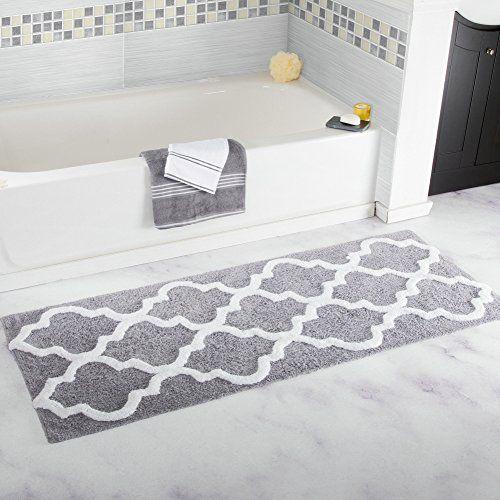 Tapis de bain Homcomoda Tapis de douche en microfibre Tapis de