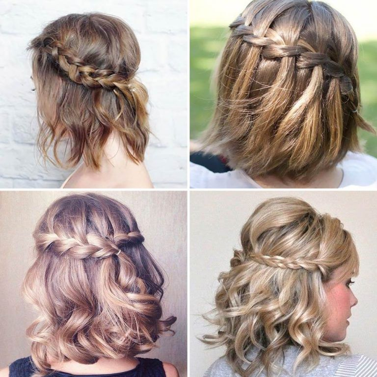 Peinados Elegantes Y Recogidos Cortos Y Medianos Para Pelo Liso Khalphora Recogidos Cortos Peinados Cortos Peinados Cabello Corto