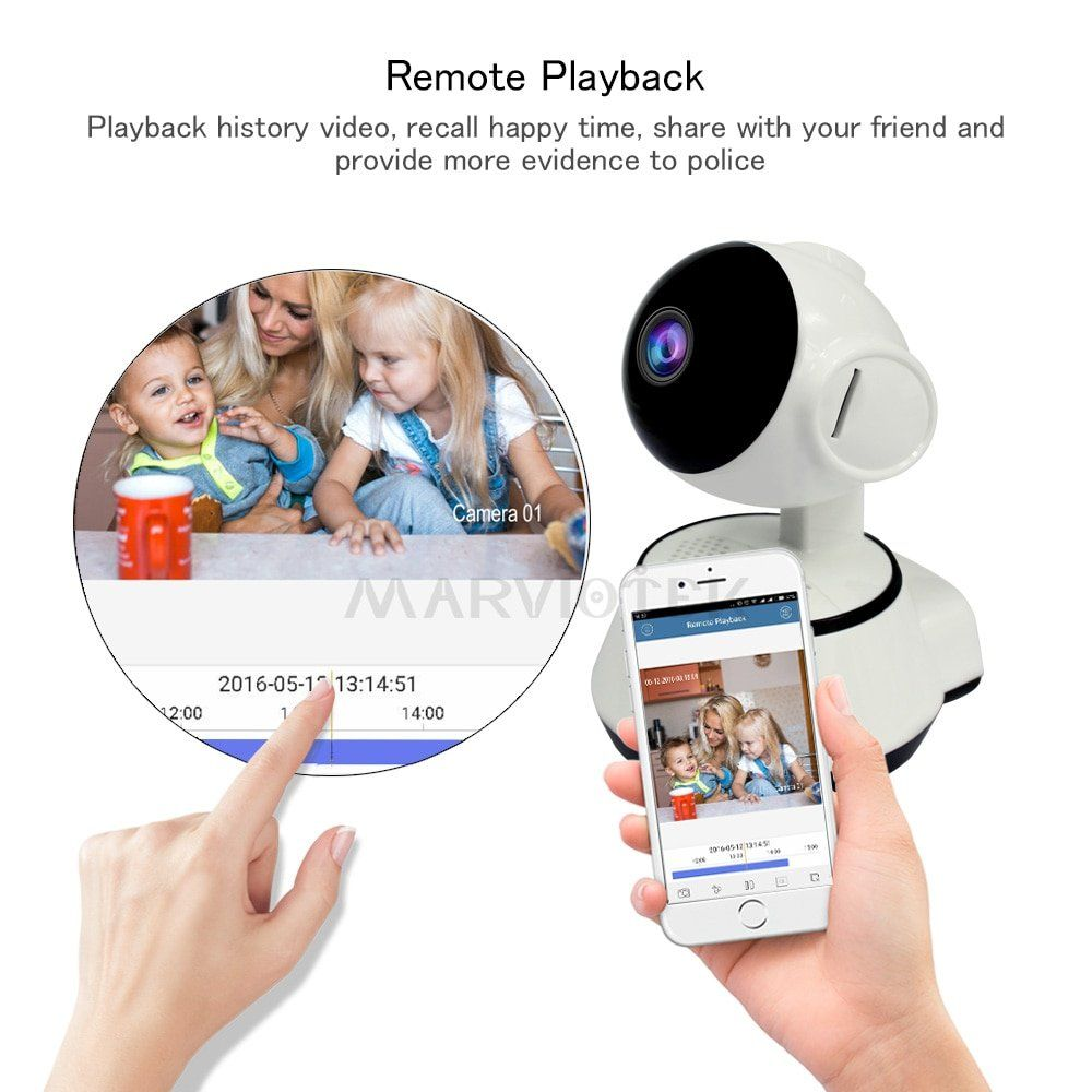 Best App Controlled WiFi Audio Video Baby Monitor Wireless