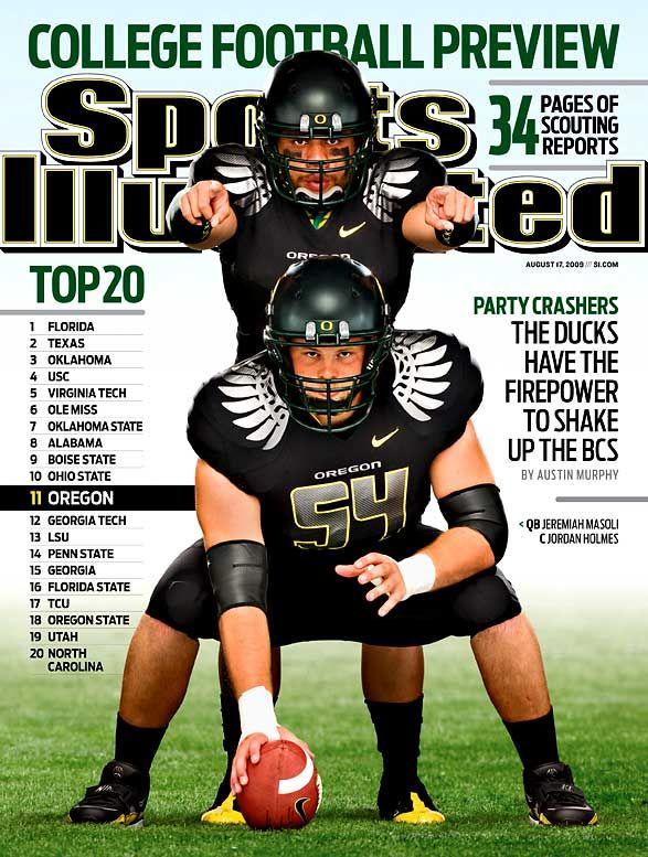 6fe0ee4237e46 OK, so granted it's the regional cover, but Nike U. aka the Oregon Ducks  will grace the cover of the west Sports Illustrated college football  preview issue.