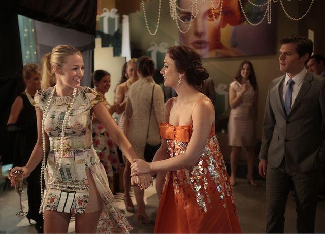 "Gossip Girl - TV.com; Serena and Blair ""All the Pretty Sources."""