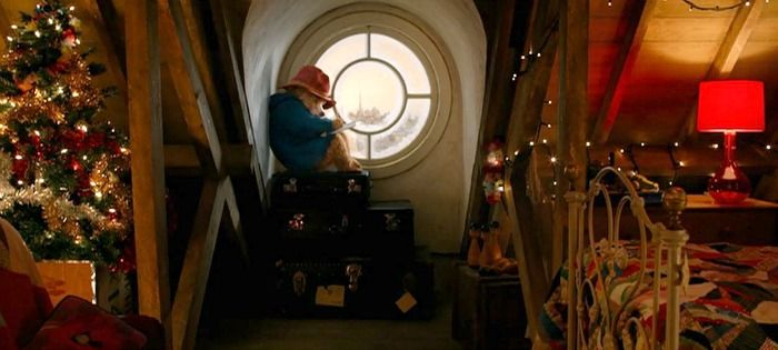 Inside The Colorful House From The Paddington Movie House Colors Movie Bedroom Paddington Bear