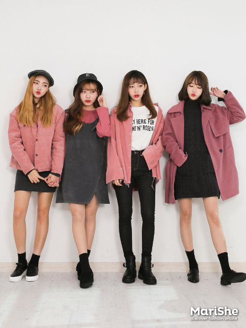 Pink x black