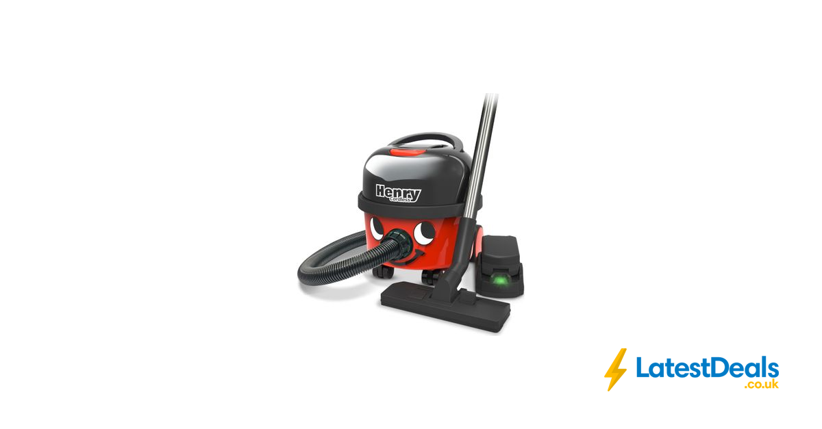 NUMATIC Henry Hoover Cordless Vacuum Cleaner, £199.99 at