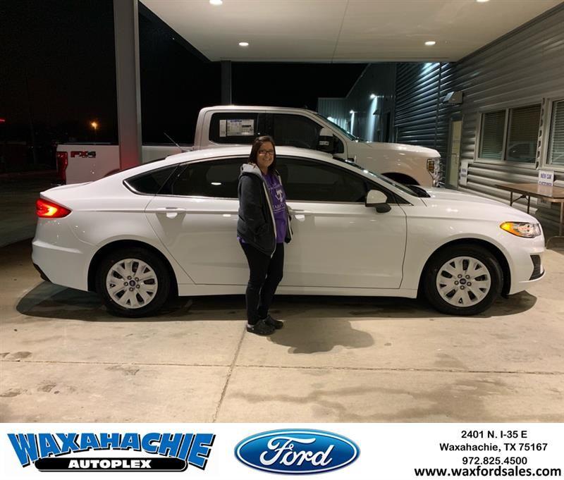 Congratulations Alyssa On Your Ford Fusion From Orlando Martinez