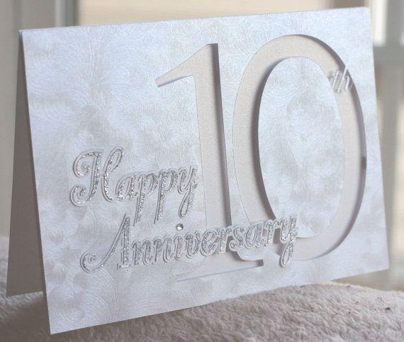 Happy th anniversary card custom year available team