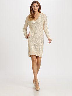 c7e08e3eb9 Stella McCartney sequin sweater dress
