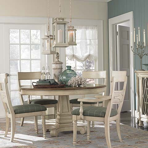Round Dining Table - Bassett Furniture | Beach House Ideas ...