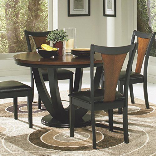 Coaster Boyer Standard Height Table Black And Cherry  You Can Cool Coaster Dining Room Furniture Inspiration Design