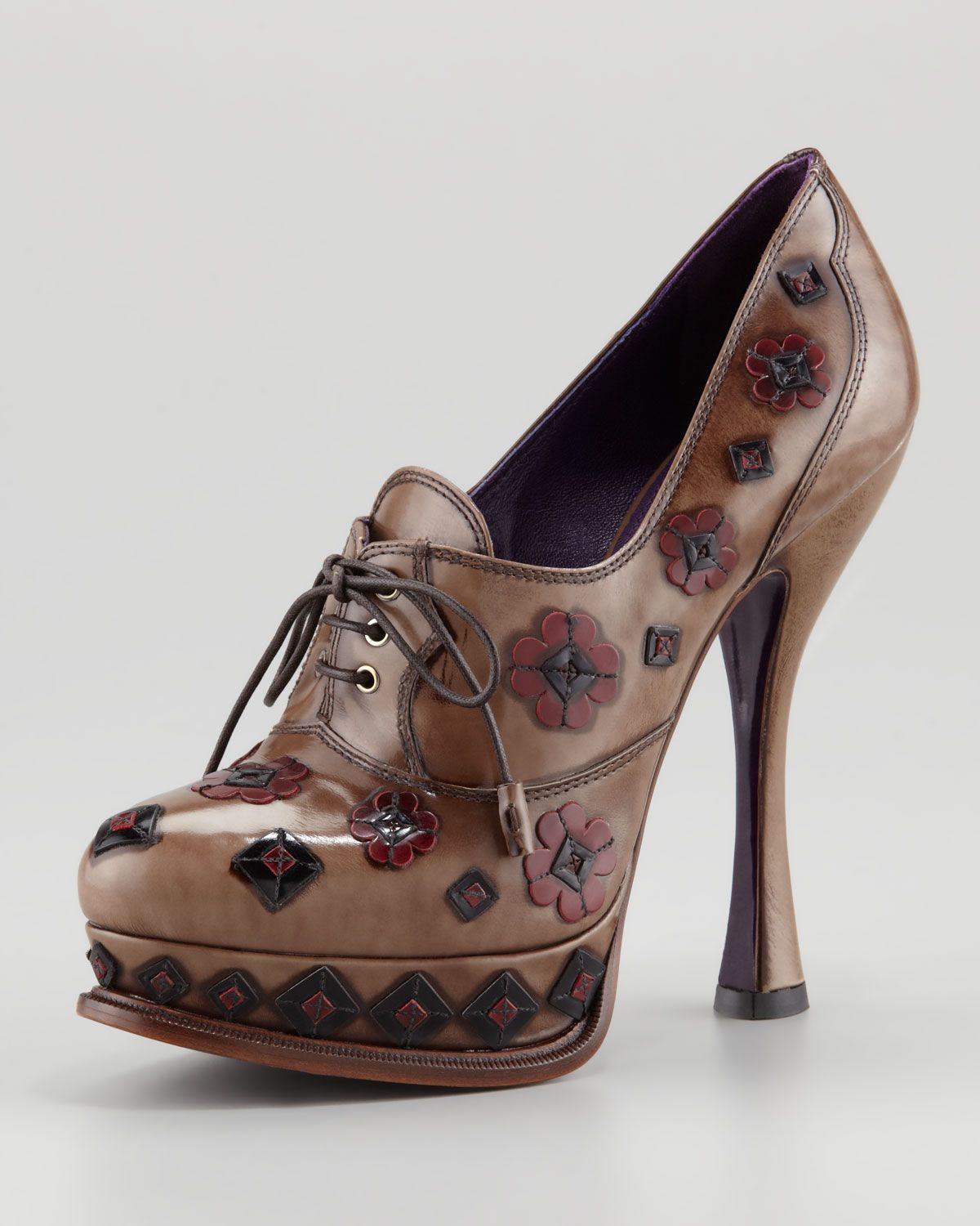 cheap footlocker Prada Floral Platform Pumps sale countdown package clearance for nice free shipping shop offer R7BB7w6ab4