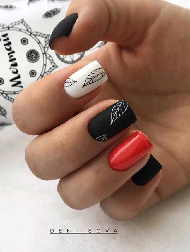 110 Best Natural Short Nails Design For Fall Page 81 Of 116 Latest Fashion Trends For Woman Short Nail Designs Fall Nail Designs Almond Nails Designs