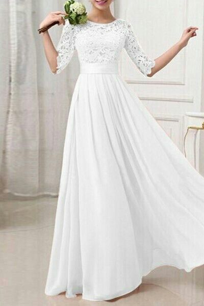 21cddb921563 Pin by Nazneen Habeeb on Gowns | Wedding dresses, Bridesmaid dresses, Lace  weddings