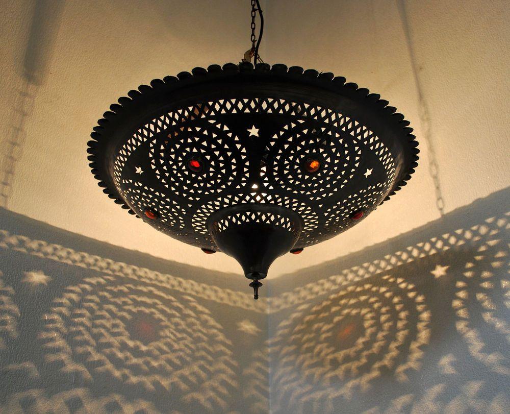 Orientalische Deckenlampe Wandlampe Marokko Lampe Hngeleuchte Tassa Koba D60