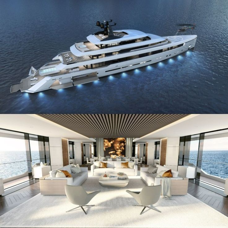 The timeless designed yacht features touchandgo helicopters the an The timeless designed yacht features touchandgo helicopters the and 100 2 are two underwater observator...