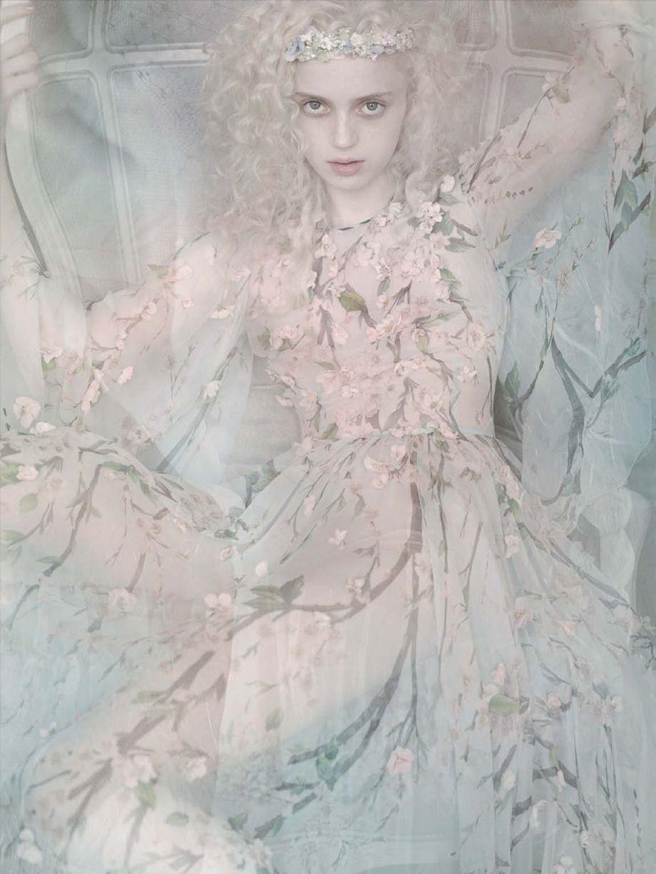 Vogue Germany March 2014 Photographer: Mario Testino Model: Esmeralda Seay-Reynolds