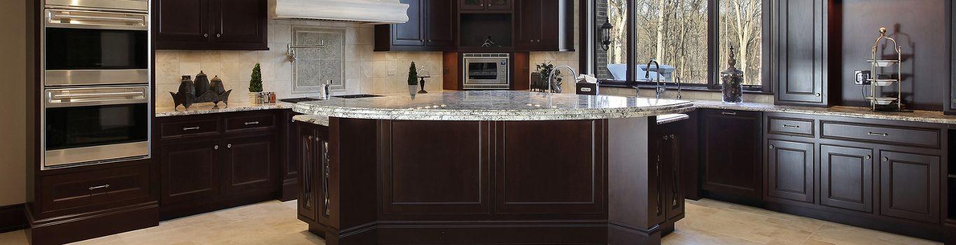 Dark Tile Floor Kitchen appealing white kitchen cabinets dark tile floor photos - best